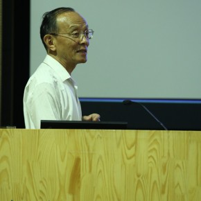 "Song Feijun lectured on ""Grandfather Feng Zikai – Comic Art and Life"" 02"