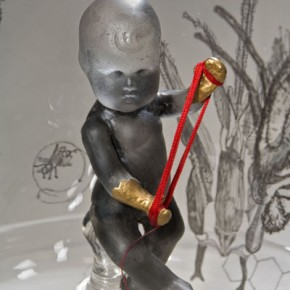 "Work of ""Stripping""International Contemporary Glass Art Invitational Exhibition 06"