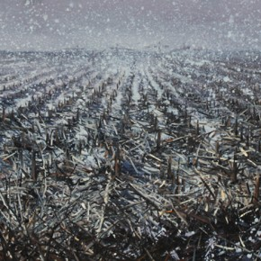 Zhao Bo Hope in the Distance No.1 Oil on Canvas 90x200cm 2013 290x290 - Zhao Bo & Xun Guipin Dual Solo Exhibitions Opening August 3 at Soka Art Center