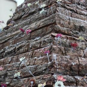 Zhao Bo Pyramid of Hope Wood acrylic plastic 2013 290x290 - Zhao Bo & Xun Guipin Dual Solo Exhibitions Opening August 3 at Soka Art Center