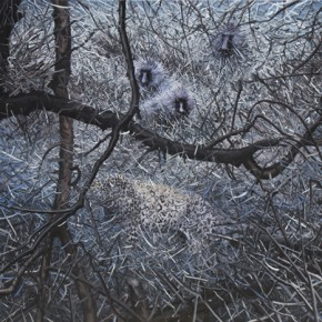 Zhao Bo Wilderness The Strong and the Weak Oil on Canvas 140x190cm 2013 290x290 - Zhao Bo & Xun Guipin Dual Solo Exhibitions Opening August 3 at Soka Art Center