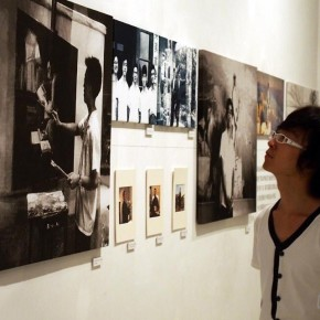 """01 View of """"Passing on the Torch"""" exhibition 290x290 - Passing on the Torch – Exhibitions of Chen Yifei's Document and Xia Baoyuan's Works Inaugurated in Shanghai"""