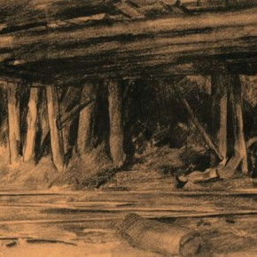 "05 Hou Yimin ""Tunnel of Datong Mine"" sketch 1962 290x290 - ""Academic Interpretation Exhibition of Hou Yimin's Two Paintings of History"" Debuted at the National Art Museum of China"
