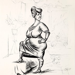 05 Otto Dix Frieda Lithograph 51.5x43.5cm 1923 290x290 - Otto Dix Solo Exhibition tours to Guangdong Museum of Art