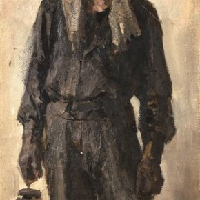 "06 Hou Yimin ""Miner of Datong"" oil on canvas 1962 290x290 - ""Academic Interpretation Exhibition of Hou Yimin's Two Paintings of History"" Debuted at the National Art Museum of China"