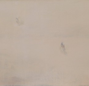 "07 Fan Xuqi ""Dust Mirror Series﹒Butterflies No.7"" 55 x 180 cm oil on canvas 2012 290x281 - The Initiating Exhibition of ""Art Nova 100"" 2013 Held in Beijing"