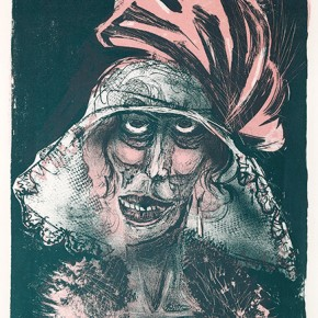 07 Otto Dix Leonie Colored Lithograph 47x37.2cm 1923 290x290 - Otto Dix Solo Exhibition tours to Guangdong Museum of Art