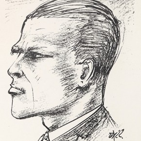 08 Otto Dix Selbstportrait Lithograph 21.1x15cm 1922 290x290 - Otto Dix Solo Exhibition tours to Guangdong Museum of Art