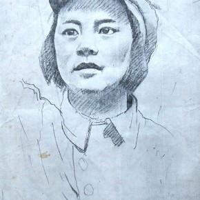 10 Feng Zhen was sketched by Xu Beihong in 1949.