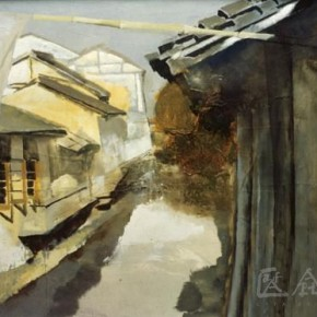 "10 Xia Baoyuan, ""The Scenery with a Birdcage"""