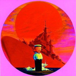 """Liu Ye Im Navy painting oil on canvas 164cmx164cm 1999 290x290 - Power Station of Art opens exhibition """"Portrait of the Times - 30 Years of Contemporary Art"""""""