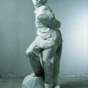 """Sui Jianguo Clothing Vein Study Tied Slave sculpture 210cmx80cmx80cm 1998 290x290 - Power Station of Art opens exhibition """"Portrait of the Times - 30 Years of Contemporary Art"""""""