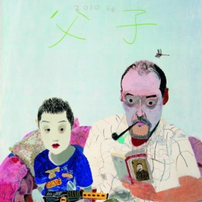 """Wang Yuping Father and Son painting oil painting acrylic 200cmx161cmmm 2010  290x290 - Power Station of Art opens exhibition """"Portrait of the Times - 30 Years of Contemporary Art"""""""
