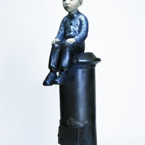 """Yu Fan The Boy Being Punished sculpture fiberglass spray 168cmx85cmx45cm 2004  290x290 - Power Station of Art opens exhibition """"Portrait of the Times - 30 Years of Contemporary Art"""""""