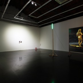 02 Exhibition View of Rauschenberg Said the Walking Stick is Longer than the Maulstick after All 290x290 - Solo Show of Qiu Xiaofei on View at Beijing Commune