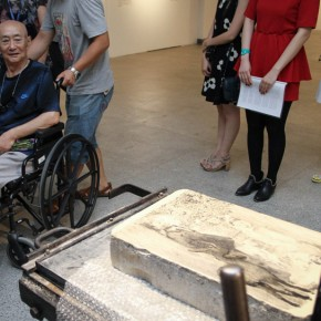 "02 Opening Ceremony of""Moistening Silently – Li Hongren's Teaching and Research Exhibition of Lithographs""  290x290 - ""Moistening Silently – Li Hongren's Teaching and Research Exhibition of Lithographs"" Opened in CAFA"