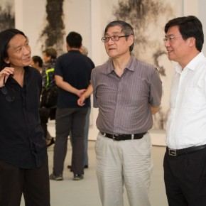 "02 View of opening ceremony of ""Pending – Su Xinping Solo Exhibition"" 290x290 - ""Pending — Su Xinping Solo Exhibition"" Unveiled at Today Art Museum in Beijing"