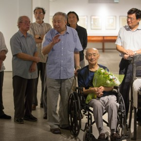 "06 Opening Ceremony of""Moistening Silently – Li Hongren's Teaching and Research Exhibition of Lithographs""  290x290 - ""Moistening Silently – Li Hongren's Teaching and Research Exhibition of Lithographs"" Opened in CAFA"