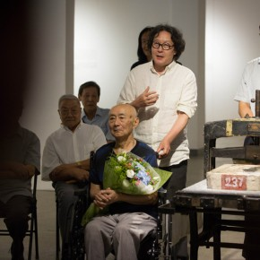 "07 Opening Ceremony of""Moistening Silently – Li Hongren's Teaching and Research Exhibition of Lithographs""  290x290 - ""Moistening Silently – Li Hongren's Teaching and Research Exhibition of Lithographs"" Opened in CAFA"