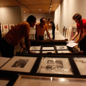 "07 Preparations of Andy Warhol 15 Minutes Eternal 290x290 - ""Andy Warhol: 15 Minutes Eternal"" tours to the CAFA Art Museum opening September 29"