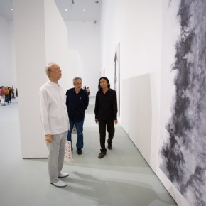 "07 View of opening ceremony of ""Pending – Su Xinping Solo Exhibition"" 290x290 - ""Pending — Su Xinping Solo Exhibition"" Unveiled at Today Art Museum in Beijing"