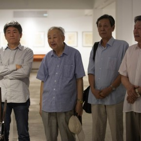 "13 Opening Ceremony of""Moistening Silently – Li Hongren's Teaching and Research Exhibition of Lithographs""  290x290 - ""Moistening Silently – Li Hongren's Teaching and Research Exhibition of Lithographs"" Opened in CAFA"