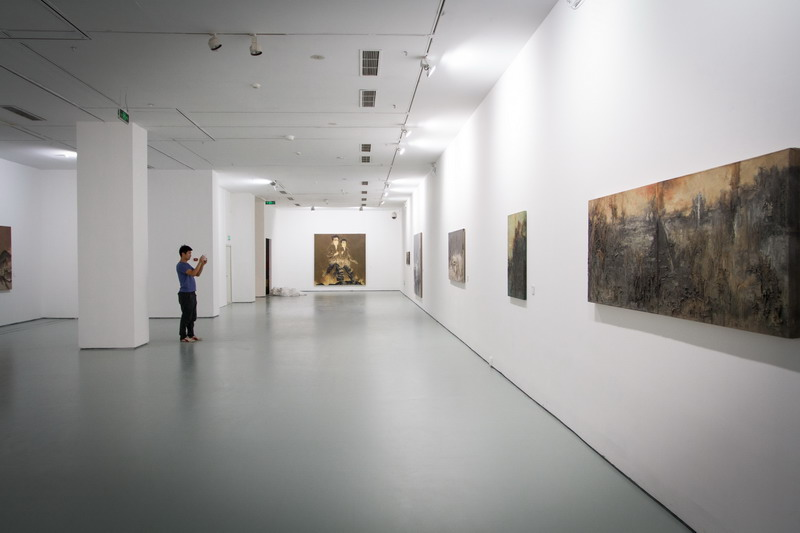 """Art In Paradise D Exhibition Hall : """"pending — su xinping solo exhibition unveiled at today"""