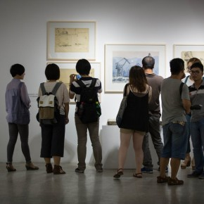 "21 Opening Ceremony of""Moistening Silently – Li Hongren's Teaching and Research Exhibition of Lithographs""  290x290 - ""Moistening Silently – Li Hongren's Teaching and Research Exhibition of Lithographs"" Opened in CAFA"