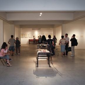 "27 Opening Ceremony of""Moistening Silently – Li Hongren's Teaching and Research Exhibition of Lithographs""  290x290 - ""Moistening Silently – Li Hongren's Teaching and Research Exhibition of Lithographs"" Opened in CAFA"