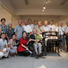"32 Opening Ceremony of""Moistening Silently – Li Hongren's Teaching and Research Exhibition of Lithographs""  290x290 - ""Moistening Silently – Li Hongren's Teaching and Research Exhibition of Lithographs"" Opened in CAFA"