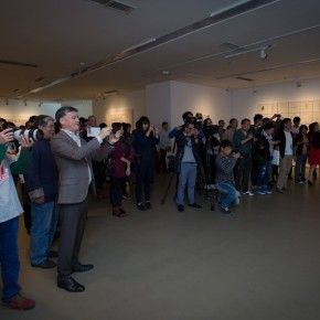 37 The Opening Ceremony of The Remedy Zhang Yanzi Solo Exhibition 290x290 - The Remedy: Zhang Yanzi Solo Exhibition Summarized Her Creations Over the Past Three Years at Today Art Museum