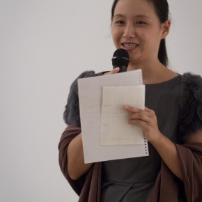 42 Li Xiaoqian at the Opening Ceremony of The Remedy Zhang Yanzi Solo Exhibition 290x290 - The Remedy: Zhang Yanzi Solo Exhibition Summarized Her Creations Over the Past Three Years at Today Art Museum