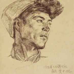 Cao Chunsheng Human Sketch 1974 32×25cm 290x290 - Literary Talent and Moral Integrity—Retrospective Exhibition of Cao Chunsheng's Work over the Past Sixty Years