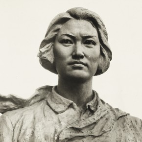 Cao Chunsheng Portrait of Martyr Zhang Zhixin 1980 Sculpture Height 90cm 290x290 - Literary Talent and Moral Integrity—Retrospective Exhibition of Cao Chunsheng's Work over the Past Sixty Years