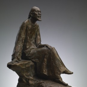 Cao Chunsheng Pu Songling 1995 Sculpture height 150cm 290x290 - Literary Talent and Moral Integrity—Retrospective Exhibition of Cao Chunsheng's Work over the Past Sixty Years