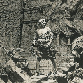 Cao Chunsheng Wrath of Serfs 1975 Sulpture 290x290 - Literary Talent and Moral Integrity—Retrospective Exhibition of Cao Chunsheng's Work over the Past Sixty Years
