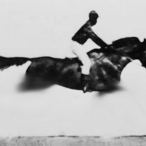 Gao Jie, The First Film in the world, About Horse Racing, 2012; video 1'