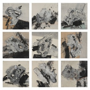 """Guan Huaibin """"Suspension Garden"""" series ink and acrylic on paper 69 x 69 cm 2012 290x290 - """"Ink Files"""" in Its First Round: China and South Korea Invited Contemporary Ink Painting Exhibition"""