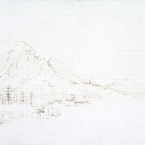 "Hu Junjun Mountain Sligh Cold 2012 Oil on linen 107x150cm 290x290 - James Cohan Gallery presents solo exhibition of Hu Junjun ""Beyond the Mountain"" in Shanghai"