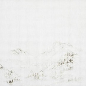 "Hu Junjun Mountain Waking of Insects 2012 Oil on linen 153x200cm 290x290 - James Cohan Gallery presents solo exhibition of Hu Junjun ""Beyond the Mountain"" in Shanghai"
