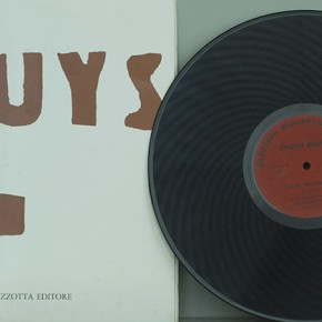 "Joseph Beuys ""YesYesYesYesYesNoNoNoNoNo"" album with LP 31 X 31 cm 1968 290x290 - LaoZhu Gave a Lecture Entitled ""Reflection by Beuys"" at CAFAM"