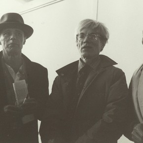"Joseph Beuys and Andy Warhol 290x290 - LaoZhu Gave a Lecture Entitled ""Reflection by Beuys"" at CAFAM"