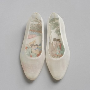 Peng Wei, Taking off the Shell, silk-shoes