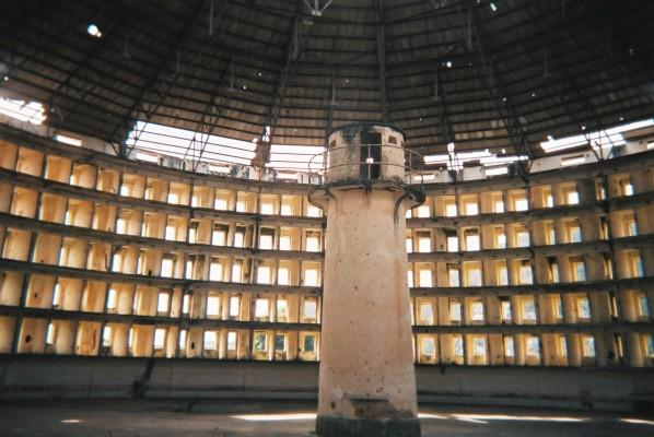 Prison Presidio Modelo, inside one of the buildings, 2005
