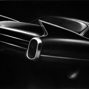 Robert Longo Cadillac 2013 inkjet printing 147x239cm 290x290 - Darkness Visible: Group Show of Ten Artists from China and US to be Exhibited at the National Art Museum of China
