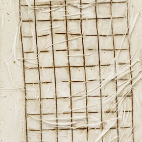 Shang Yang Screen White 2 2013 Steel and Silk on Canvas 248x78cm 290x290 - Solo Exhibition of Shang Yang's Art Opening September 11 in Suzhou