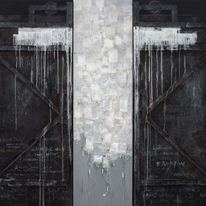 Sun Guoqing Black Memories No.2 2013 mixed media 280x350cm 290x290 - Darkness Visible: Group Show of Ten Artists from China and US to be Exhibited at the National Art Museum of China