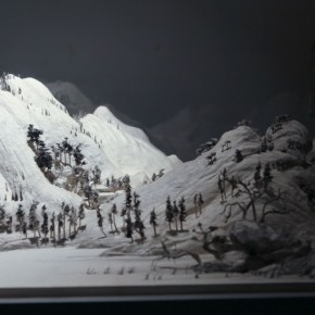 """Wang Qiang Living in Fuchun Mountains 8 2013 Mixed media 64x202x692cm 290x290 - Red Gate Gallery presents """"Creative Realms"""" featuring Wang Qiang's recent works"""
