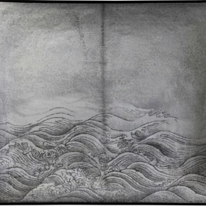 """Wang Qiang Seeing Ma Yuan in a Trance Waves 2013 Mixed media 78.5x98x9.5cm 290x290 - Red Gate Gallery presents """"Creative Realms"""" featuring Wang Qiang's recent works"""