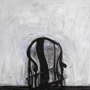 Xia Funing Invariablenes One of Narrations of the Chair No.1 2012 Oil on canvas 150x150cm  290x290 - Rationalized Vision—Xia Funing Art Exhibition on Display at the National Art Museum of China